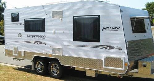 Millard Caravans at South Tweed Caravan Sales