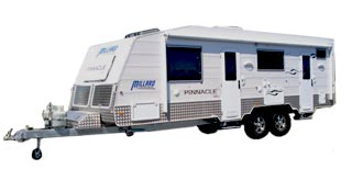 Millard Pinnacle caravan