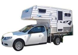 Millard Slide-on Caravan