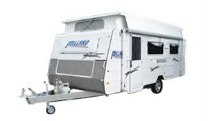 Millard Pop-top caravan