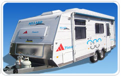 New millard pinnacle caravan