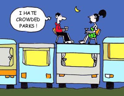 I hate crowded caravan parks - Tweed Coast caravan sales