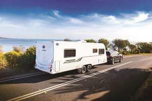 New Bailey Nebula caravan